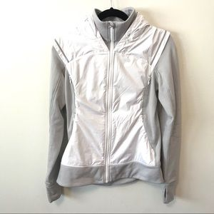 Lululemon Fitted Running Zip Up Jacket with Hood